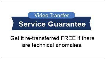 vhs to dvd - super 8 film - guarantee